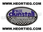 Paul Dunstall Suzuki Tank and Fairing Transfer Decal DDUN6-4